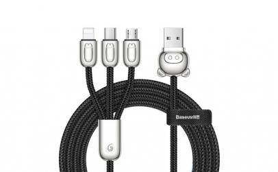 Cablu de date/incarcare Baseus, Three