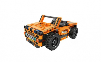 Joc constructie: Jeep