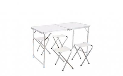 Set masa pliabila + 4 scaune
