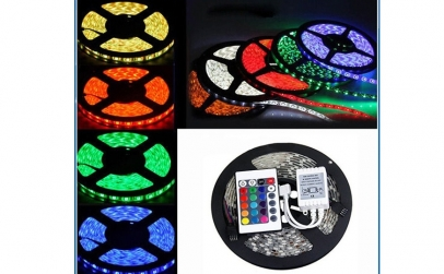 Kit banda LED RGB exterior