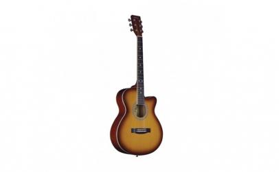 Chitara clasica din lemn 95 cm  natur