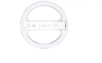Volan alb compatibil Nintendo Wii