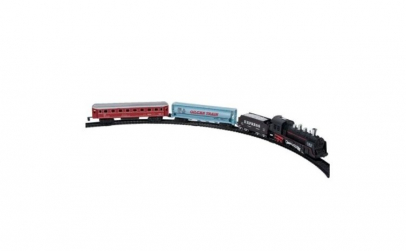 Trenulet electric cu doua vagoane
