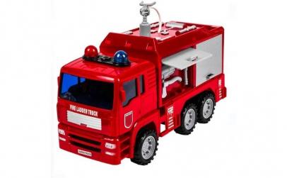 Camion de pompieri cu baterie