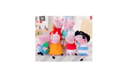 Set Peppa Pig plusuri