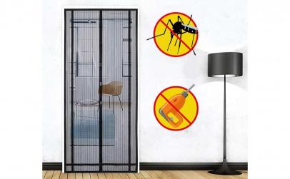 Plasa anti insecte cu prindere magnetica
