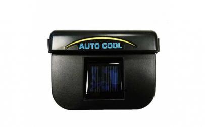 Ventilator auto cu incarcare solara