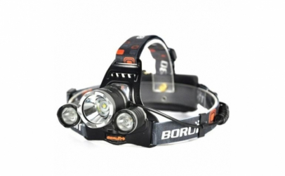 Lanterna frontala reglabila cu 3 LED-uri