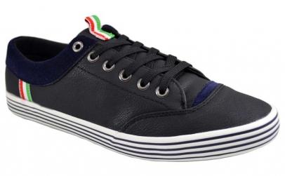Pantofi casual barbati negri Italy