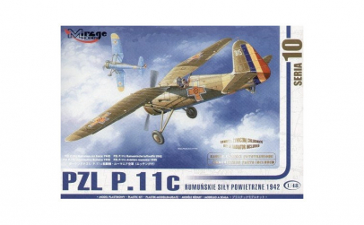 1:48 PZL P-11c ROMANIAN AIR FORCE 1:48