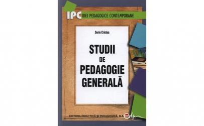 Studii de pedagogie generala - Sorin