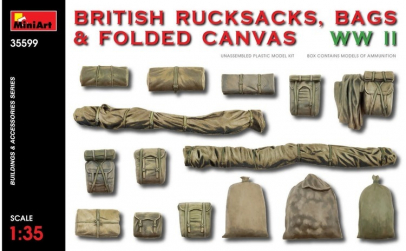 1:35 British Rucksacks, Bags