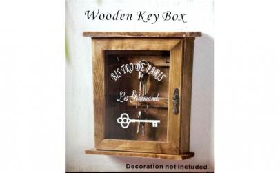 Cutie din lemn pentru chei