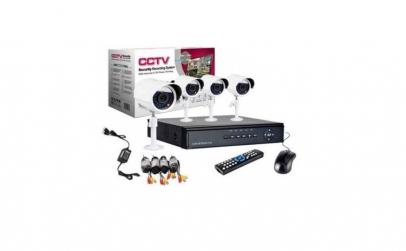 Kit supraveghere 4 camere CCTV Ahd