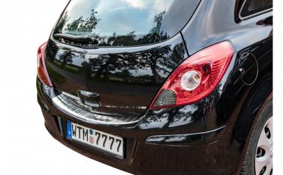 Ornament portbagaj Crom Opel Corsa D