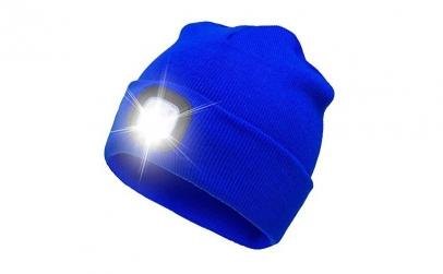 Caciula unisex cu LED reancarcabil
