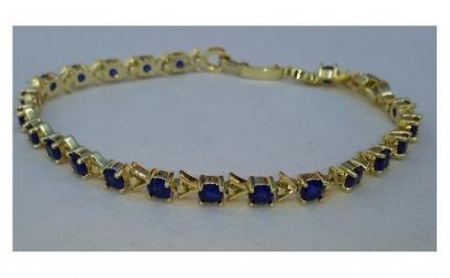 Bratara Luxury Royal Sapphire