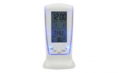 Ceas cu alarma si termometru