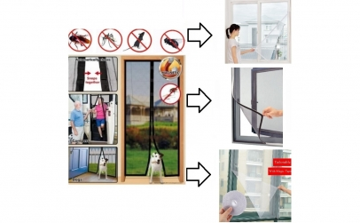 Plasa anti-insecte usa + plase fereastra