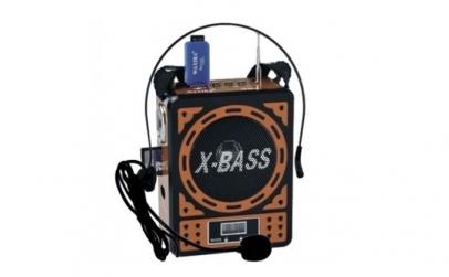 Boxa portabila X-BASS usb sd radio mp3