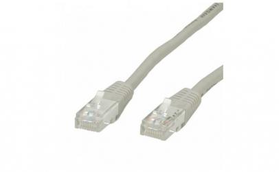 Cablu retea UTP Cat. 5e, gri, 3m