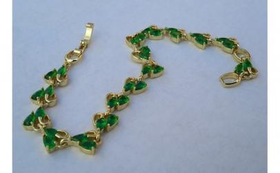 Bratara Luxury Emerald