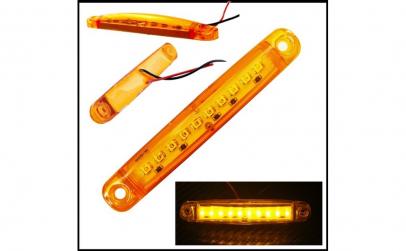 Lampa laterala 9 SMD 12-24V