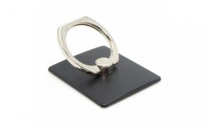 Suport telefon tip inel negru 360 grade