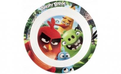 Farfurie adanca melamina Angry Birds