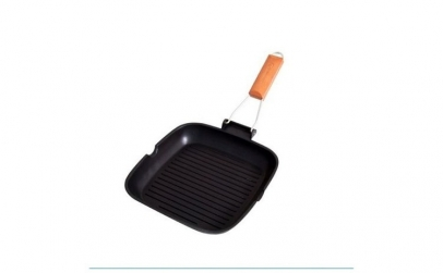 Tigaie grill Grunberg, 20 cm, Negru