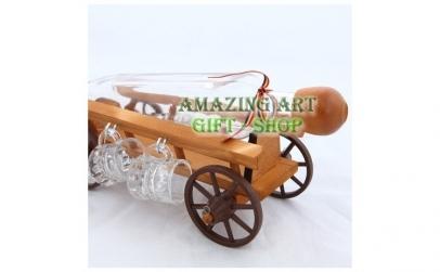 Suport car din lemn