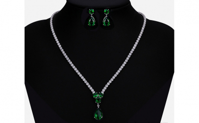 Set bijuterii Anebris Glamour Green