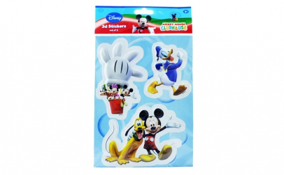 Sticker 3D, Disney, Donald Duck, 27 x 20