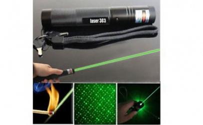 Laser puternic Verde 3D cu Acumulator 18