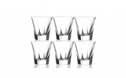 Set 6 pahare cristal Fusion