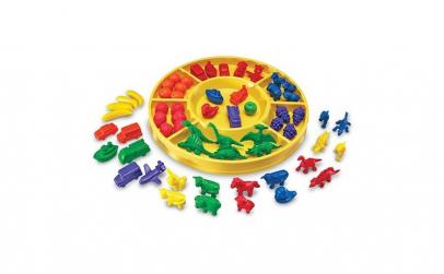 Set de sortare multicolor pentru
