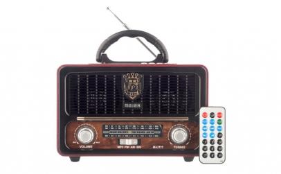 Set Radio cu MP3 Player si Bluetooth