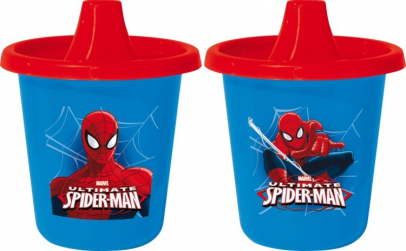 Cana 205ml, 2buc Spiderman