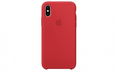 Husa iPhone XS, Silicon, Red