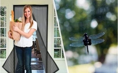 Perdea cu magneti anti-insecte
