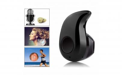 Mini casca Bluetooth 10m invizibila