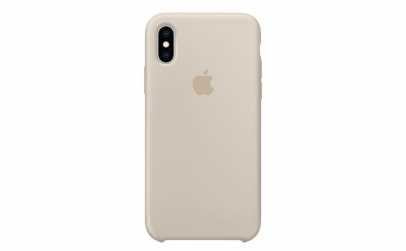 Husa iPhone XS, Silicon, Stone