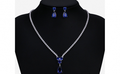 Set bijuterii Anebris Glamour Blue