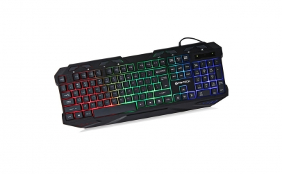 Tastatura gaming led 112 taste fantech