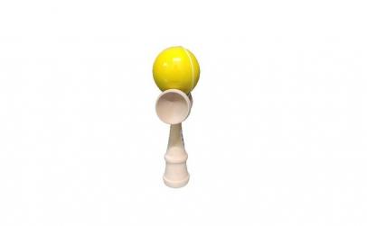 Kendama Ball Originala Galben Lucios