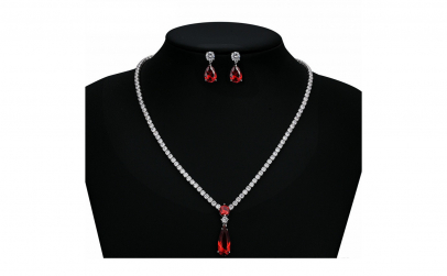 Set bijuterii Anebris Princess Red
