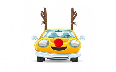 Decoratiune ren pentru masina
