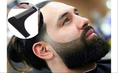Sablon si pieptene modelare barba
