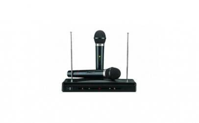 Set 2 microfoane wireless + receiver A30