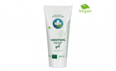Gel Menthol Hemp, 200 ml